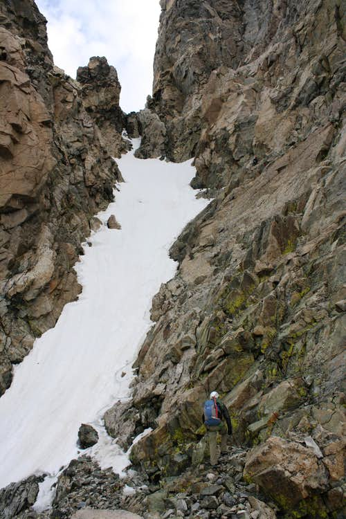 Turret Peak West Couloir