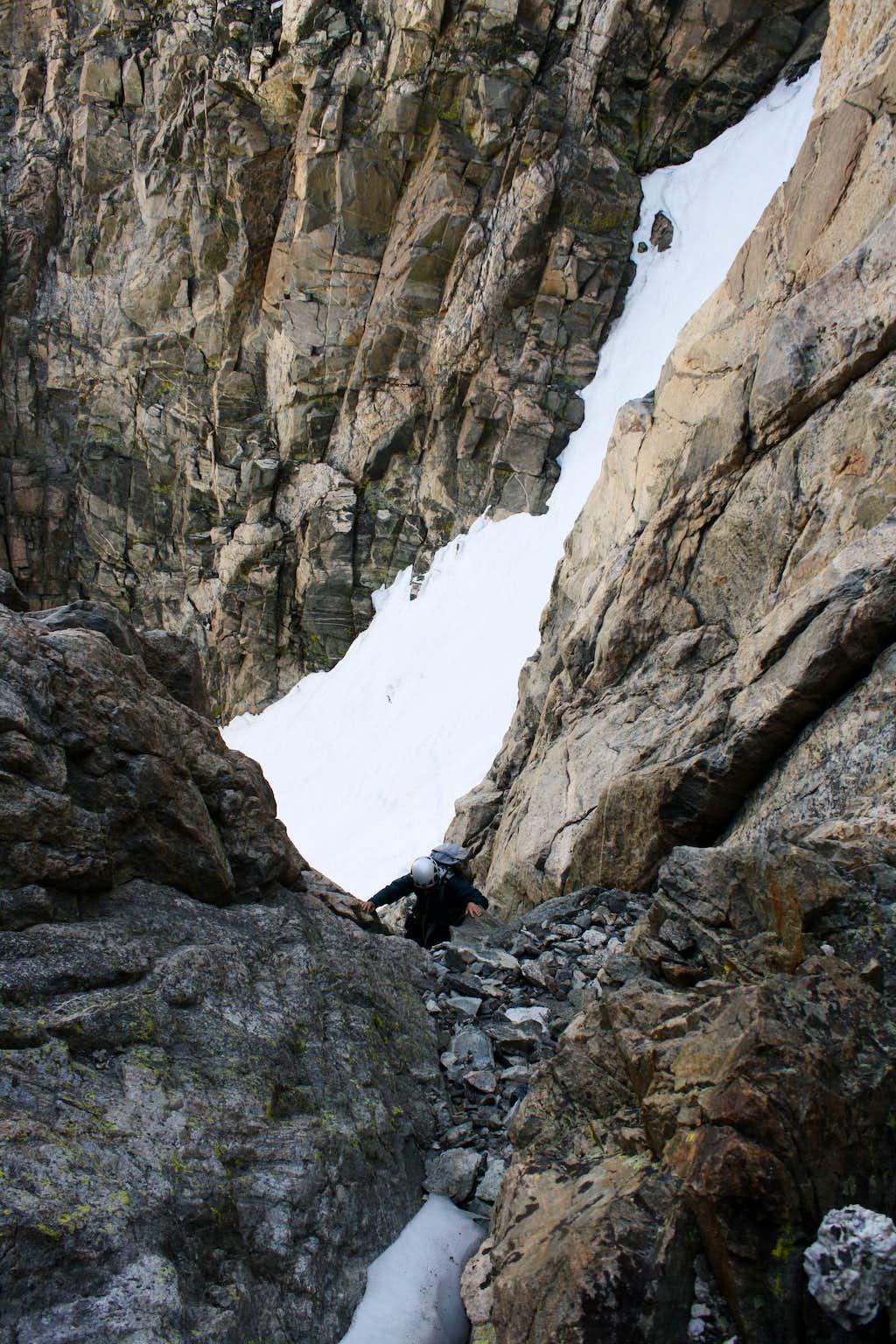 Small Gully on Turret Peak