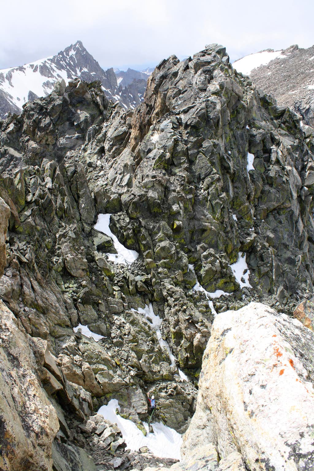 Turret Peak's Southern Summit