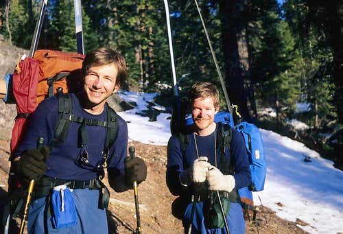Fred and Gerry in Little Yosemite