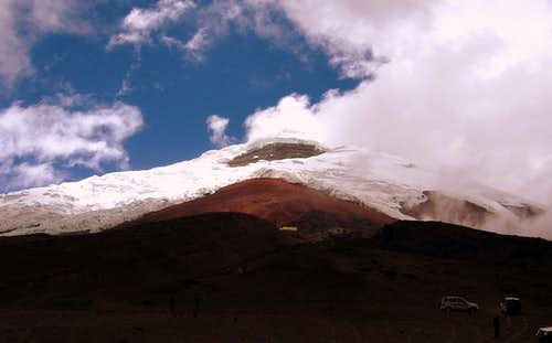 Cotopaxi from the parking lot