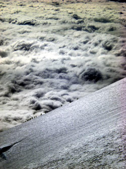 Climbers on the Horizon