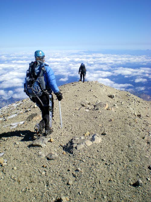Descending from the Crater