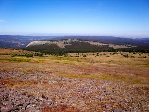 Looking north on the way to Bald Mountain
