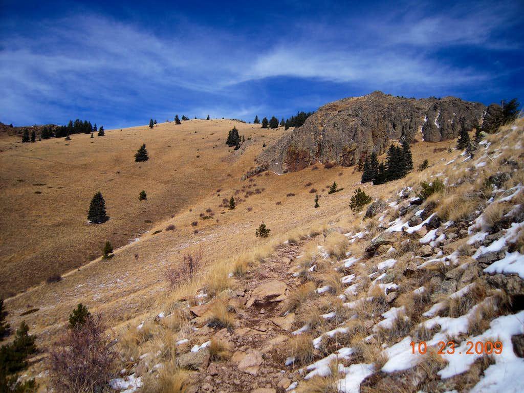 Mount Taylor false summit