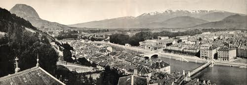 Grenoble Alps old pictures