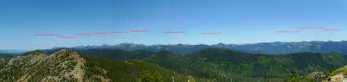 Siskiyou Wilderness Skyline