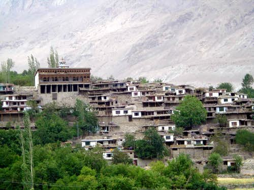 A Village of Hushe Valley