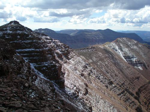 Southwest ridge of Squaw BM