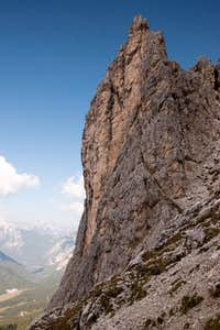 Tower en route to Forcella di Diavolo