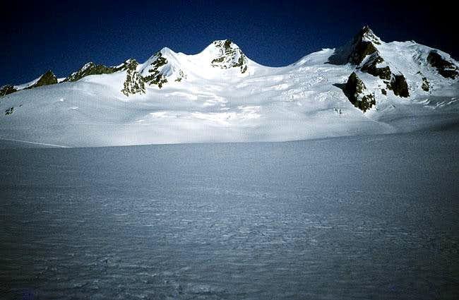 Ebnefluh and Gletscherhorn...