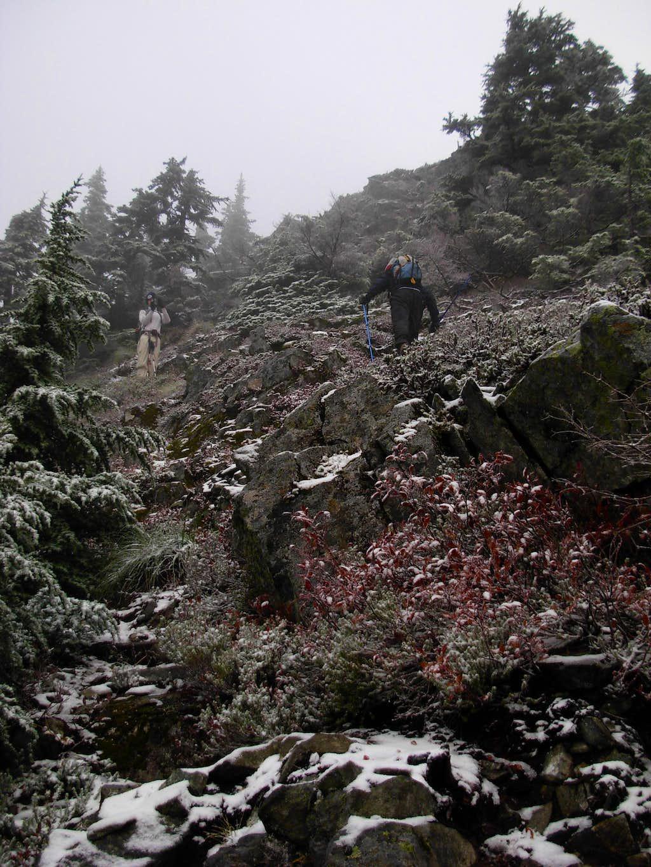 Gimpilator and EastKing Ascend Abiel Peak