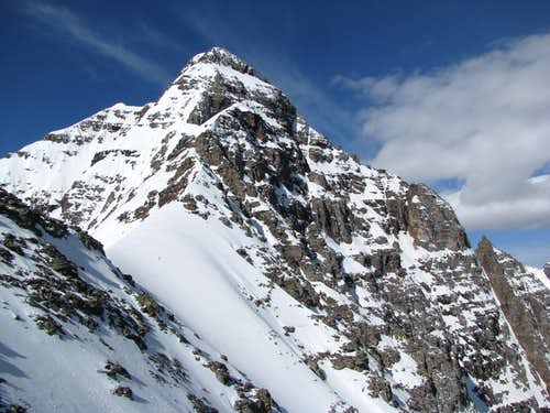 Pyramid Peak\'s NE Ridge