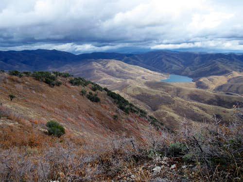 Mountain Dell reservoir