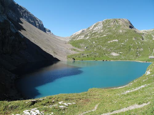 Iffigsee, Iffighorn and Wildhorn Hut