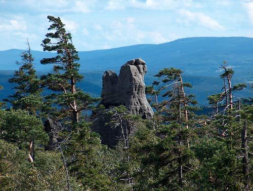 Szczeliniec Wielki - Góry Stołowe