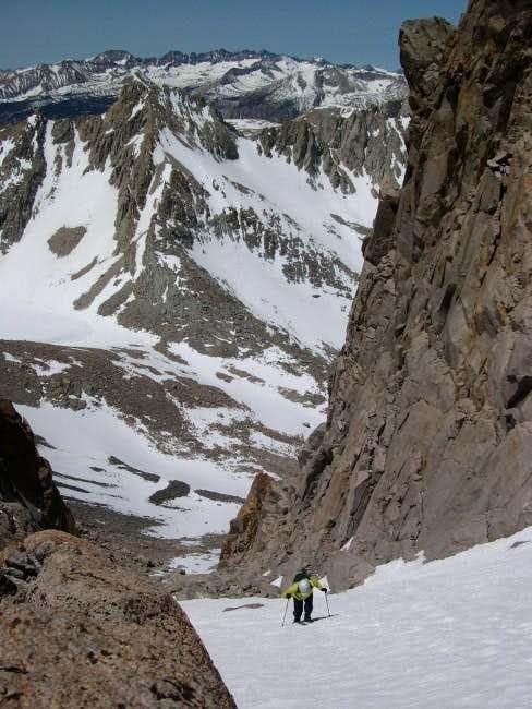 Ascending Mount Williamson's...