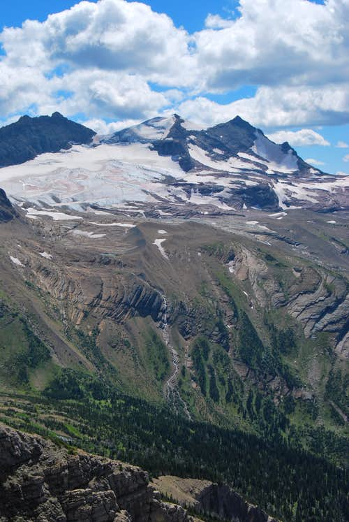 Gunsight Mountain & Sperry Glacier