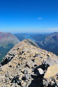 Mount Grinnell summit ridge