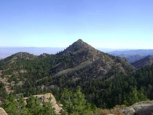 Hualapai Peak, roof of northwestern Arizona