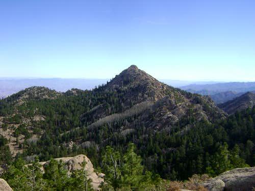 Hualapai Peak, roof of northwestern Arizona