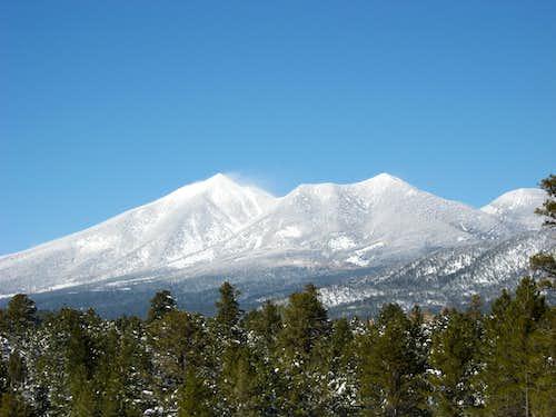 Four Sacred Peaks of the Navajo