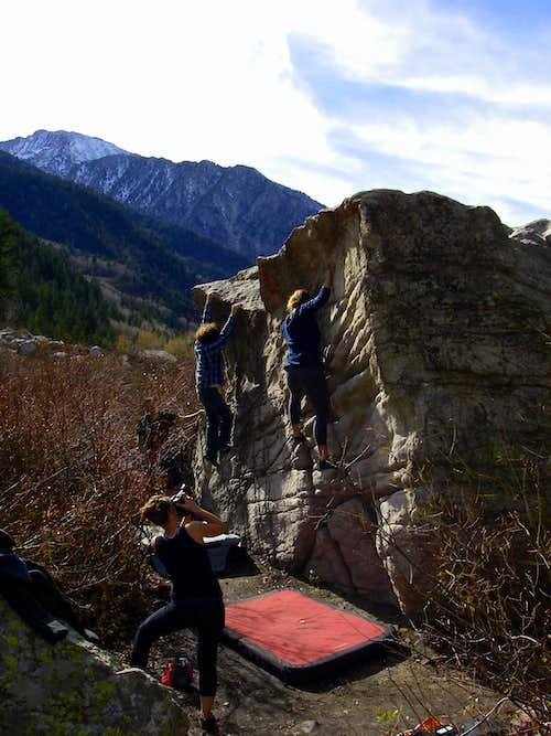 The China Wall Boulder
