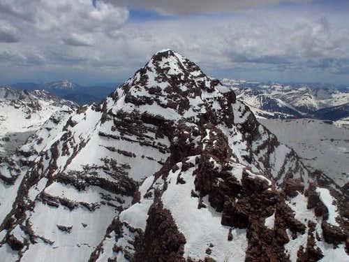 South Maroon Peak as seen...