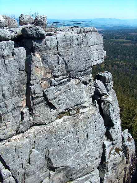 The Sandstones of Szczeliniec Wielki, Góry Stołowe