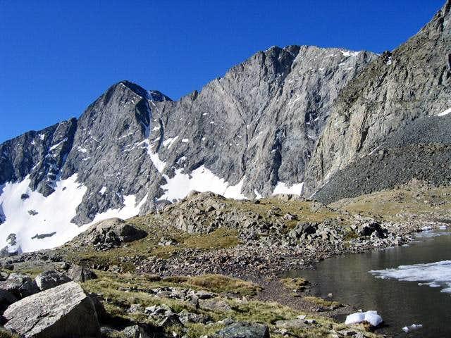 Blanca Peak and Ellingwood...