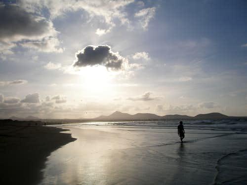 Caleta de Famara beach