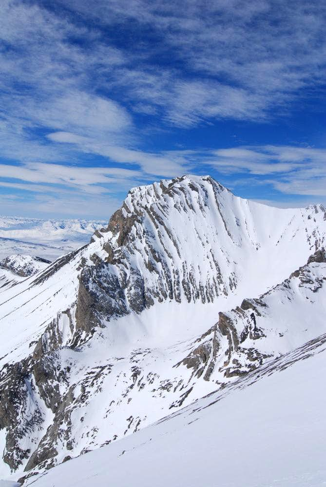 Donaldson Peak from Brietenbach