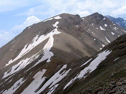 Parvaneh 3750 m & Point 3905 m