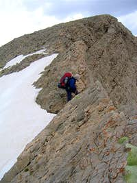 On the Crest of Dobrar Ridgeline