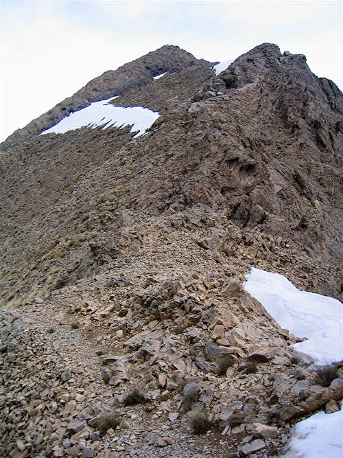 Point 3905 m, West Face