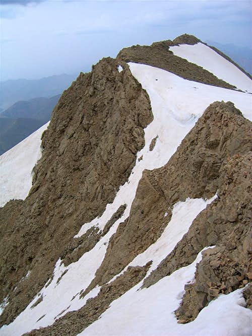 Point 3905 m, East Face