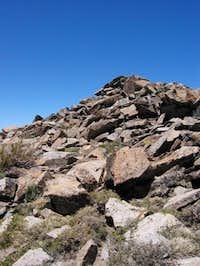 Ralston Peak summit from the...