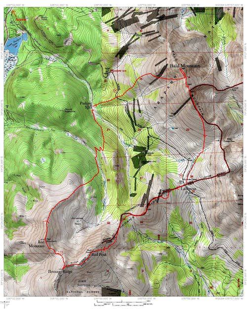 LaBoreas Pass Map