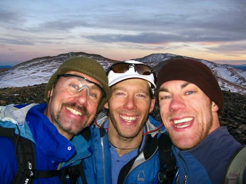 Gary, Aron, and I on Red Mountain