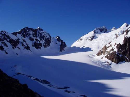 The Blue Glacier in Morning...
