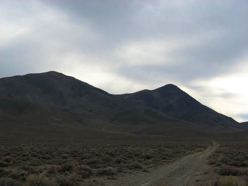 Black Mountain (Pershing County, NV) from the North