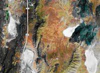 Black Mountain (Pershing County, NV) satellie image