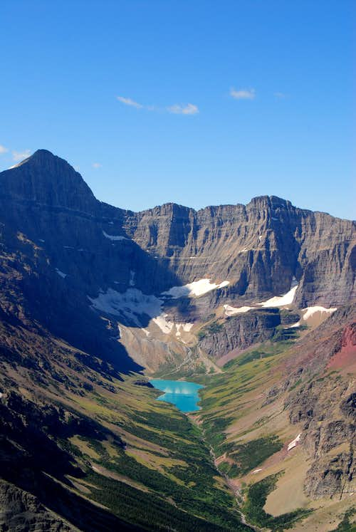 Mount Siyeh above Cracker Lake