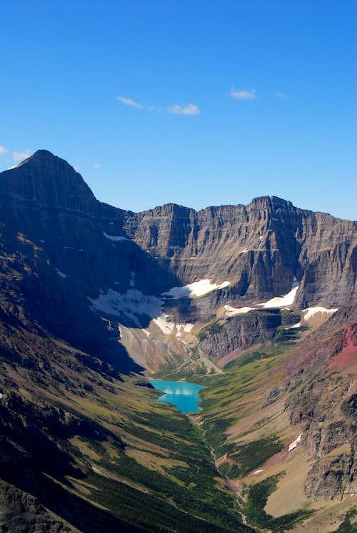 Mount Siyeh above Cracker Lake