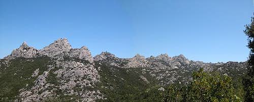 Overview Monte Limbara -...