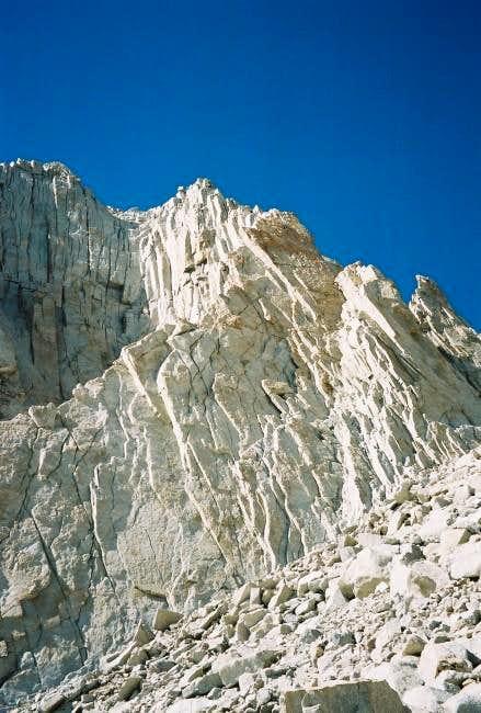 The Fishhook Arête of Mount...
