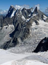 Grandes Jorasses / Chamonix / France