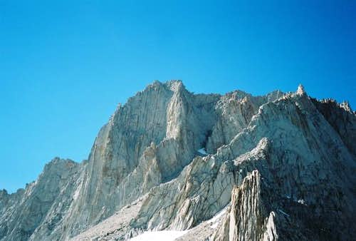 The southern aspect of Mount...
