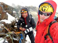 Nevado Churup Belay/Rap Station