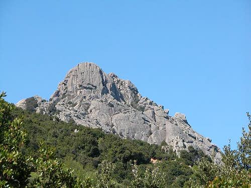 Monte Biancu main summit, May...